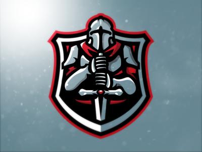Knight Mascot Logo (For Sale)