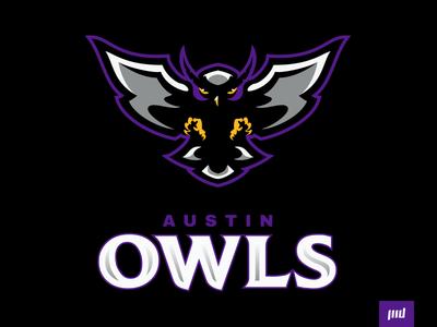 Austin Owls Full Branding