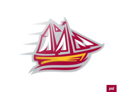 Baltimore Clippers water clipper sails baltimore boat clippers esports branding sport logo brand football design matthew doyle mascot sports logo