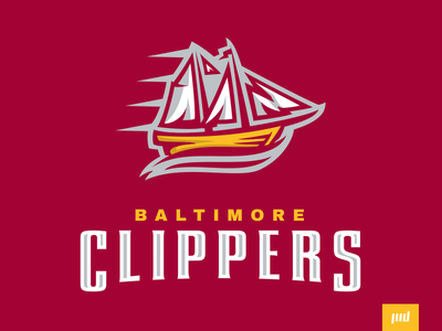 Baltimore Clippers Full Branding