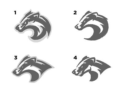 Badger Sketches ipad sketching logo sketch wip illustration branding sport logo mascot logo sports animals logo mascot logo sketch honey badger animal badgers