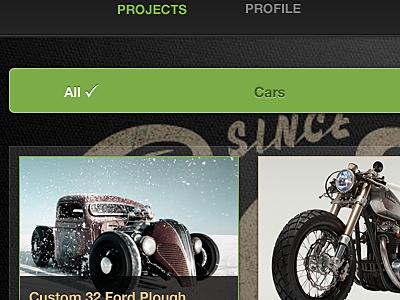 Gallery Filter gallery filter green black web website