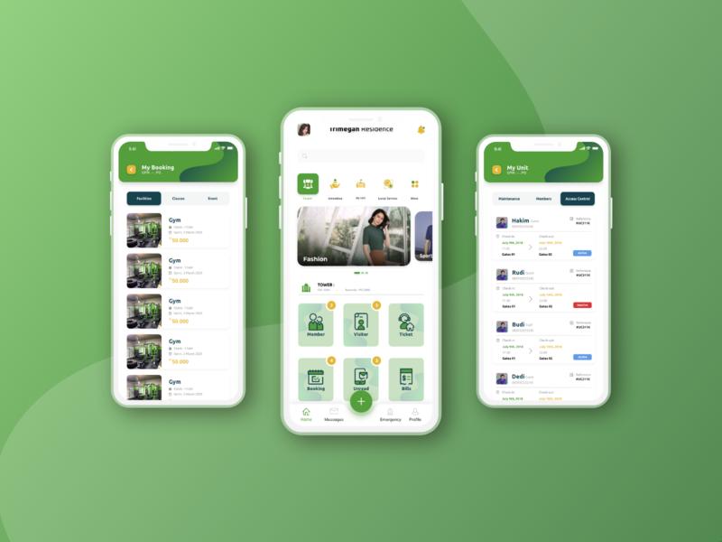 Residence Monitoring App