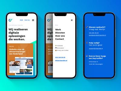 Mobile first website redesign footer menu homepage mobile first mobile website redesign redesign web design ux ui rebranding website content design content design branding