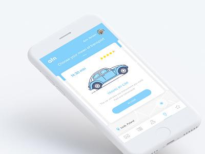 Atri App  navigation transport webdesign mobile app app design app travel