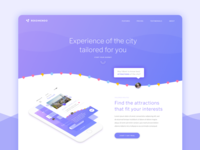 Rekomendo Landing Page