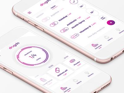 Drugdo application mobile app app design ux ui app health medicine medication