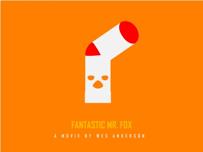 Fantastic Mr Fox Poster By Opos On Dribbble