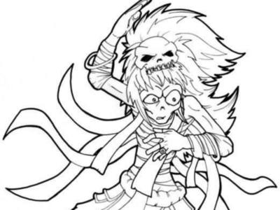 [Drawing] Kungfu mummy mummy drawing manga