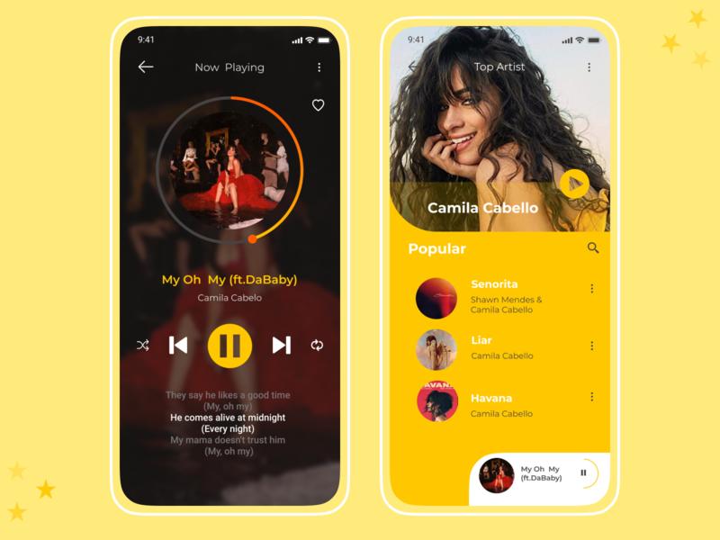 Music Player | Daily UI  009 dailyui009 mobile app design daily 100 challenge dailyui uiux daily ui uiuxdesign ui  ux ui uidesign design