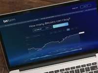 Bitcoin trading and exchange UI/UX design