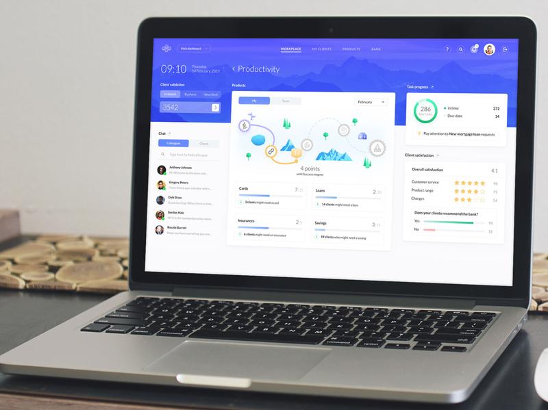 Core banking UX/UI design that revolutionizes the industry ux app user interface digital ui finance bank banking financial fintech