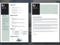 Free Download -  Personal Resume and Cover Letter