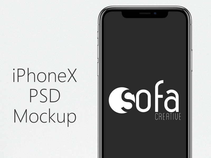Iphone X   Psd Mockup download free iphone mockup free psd iphone x