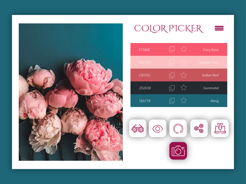 Daily UI #60 - Color Picker