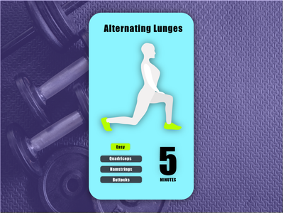 Daily UI #62 - Workout of the Day