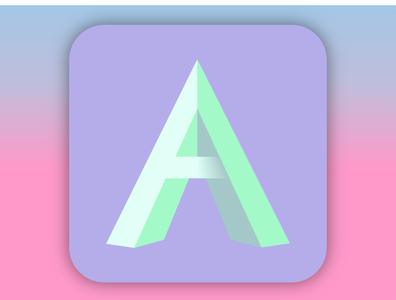 De Architectura - Logo Design App logo architecture vaporwave vector uidesign ui illustrator graphicdesign graphic design