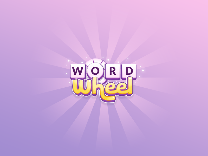 Word Wheel - Game Logo voice amazon echo alexa scrabble brain games game wheel word