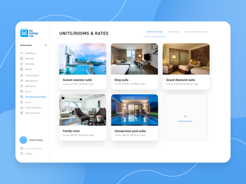 365 Days Booking Website minimal design service calendar web ux ui ronas it cuberto airbnb travel dashboard appartment rental booking