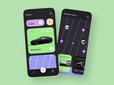 PlugShare App Redesign map search booking rental plugshare plug mobile charge tesla electrocar electro car concept mobile app design design app ui ux ronas it
