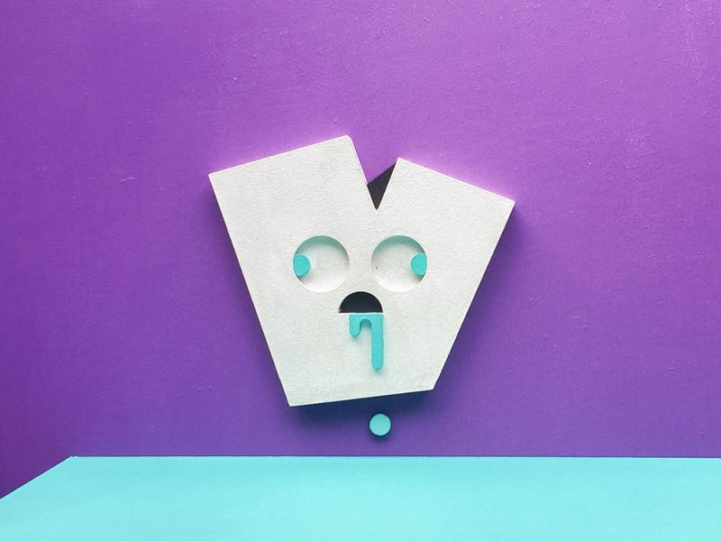 V for vacant photography minimal lettering letter illustrator illustration handmade design graphic cute character artwork