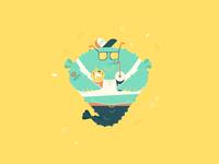 Mermay - chubby blowfish dude
