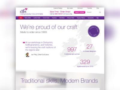 We're proud of our craft layout web page