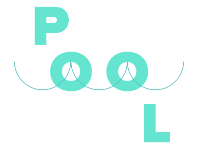 Pool2 wave typography