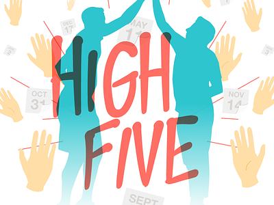High Five trello high five hi5 hands illustrator