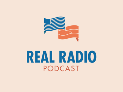 Podcast Logo vector branding political logo design logo podcast political