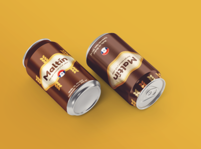 Root Beer Cans beer branding beer can can flat logo branding root beer beer