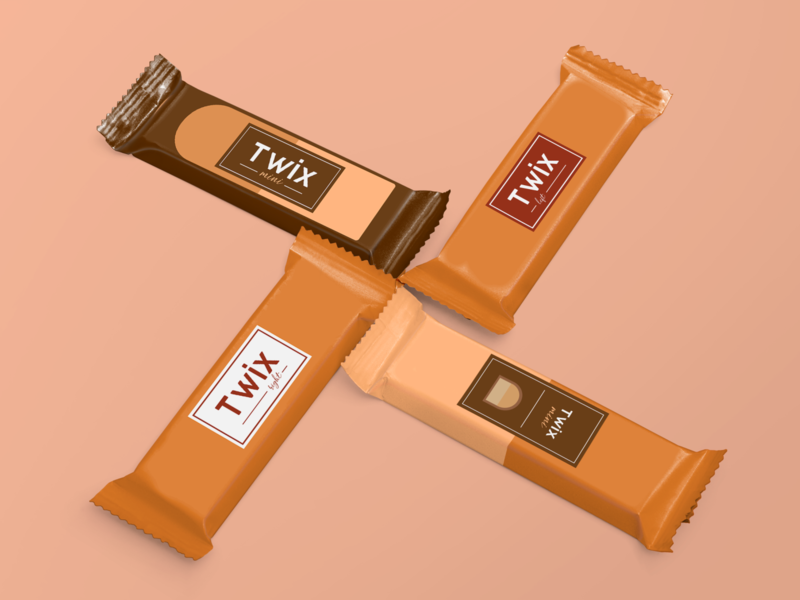Twix rebranding food food brand packaging chocolate bar chocolate design branding