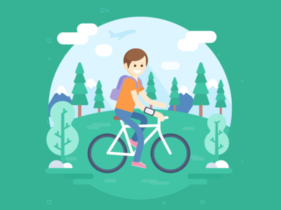 On the move - illustration #2
