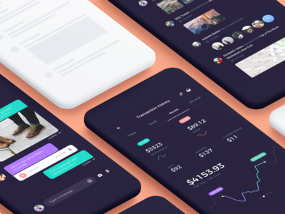 Atro Mobile UI Kit [preview]
