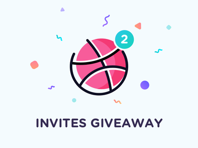 Dribbble invites giveaway! design draft dribbble giveaway invitation invite players prospect free tickets