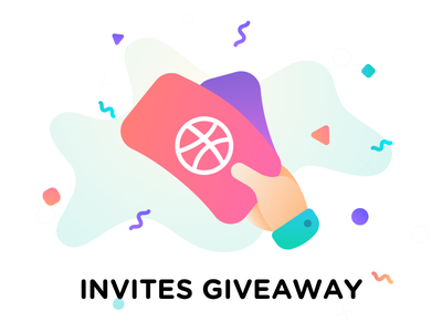 Dribbble invites giveaway! tickets free prospect players invite invitation giveaway dribbble draft design