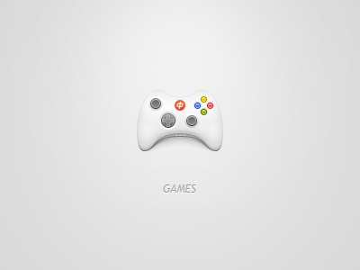 Dribbble design texture icon vector app icons clean illustration shiny iphone sharp gamepad controller xbox games play