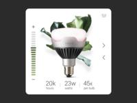 Week 15 - Lightbulb UI