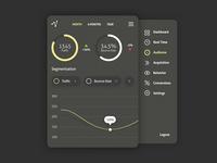 Week 20 - Analytic application dark concept