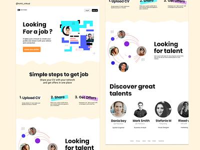 Landing page design product page webdesign ui figma uiux website design website concept