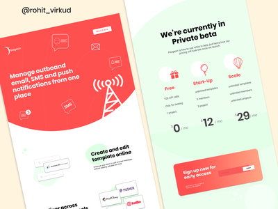 pegeon company web design concept product design ui website design uiux freelance webdesigner websitedevelopment webdesign