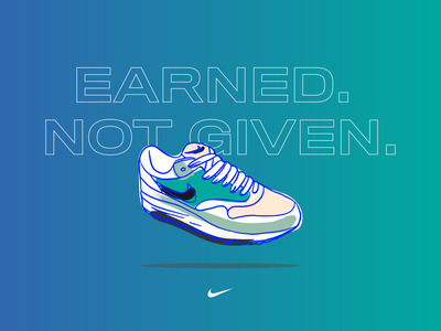 air max collection 03 minimal adobe illustrator vector typography art vibrant color procreate ipadpro illustration design