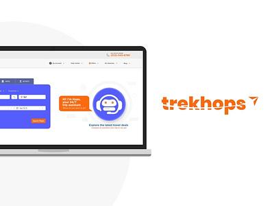 Trekhops trekking travel booking trekhops webdesign