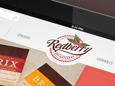 Redberry webshop webshop chocolate