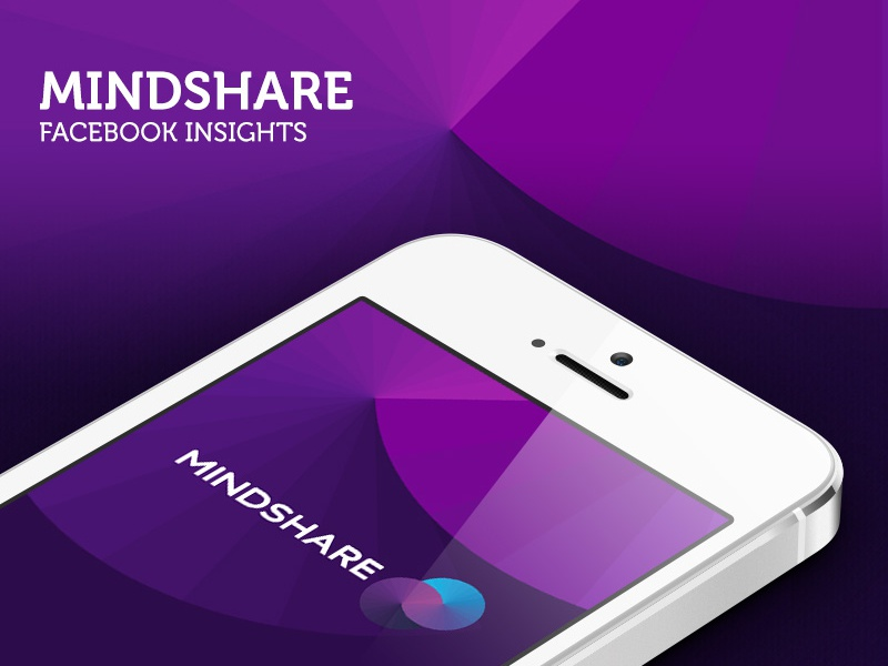 Mindshare facebook insights mobile application iphone splash screen