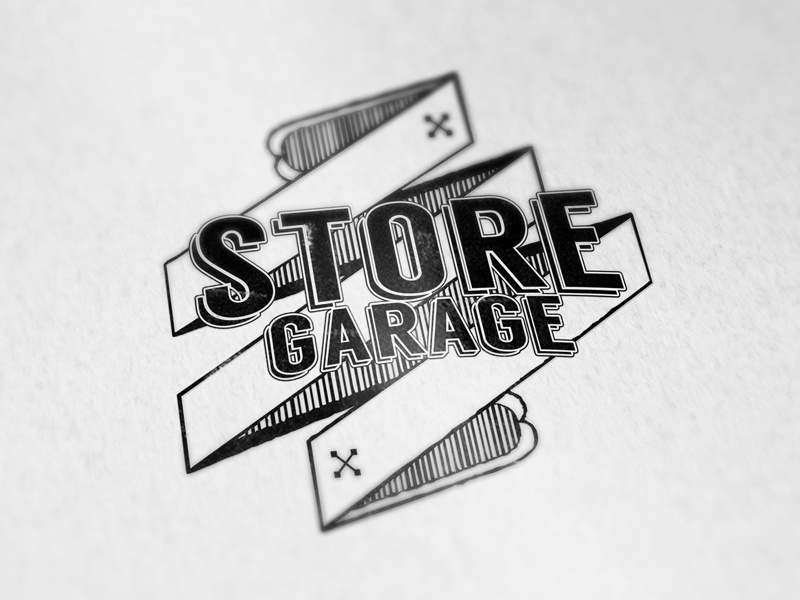 Soregarage - logo design logo paper print design branding