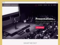 Slideist Webdesign