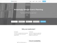 A homepage big