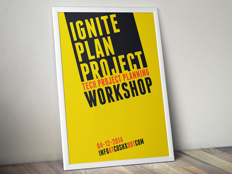 Workshop Posters poster workshop fresh summer typography clean