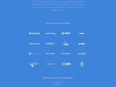 Daikatana Free Psd free psd freebie website clean minimal clear whitespace download blue roboto zen
